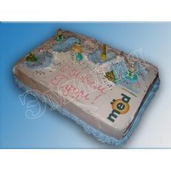 Торт новогодний №5