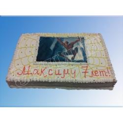 Детский торт №82