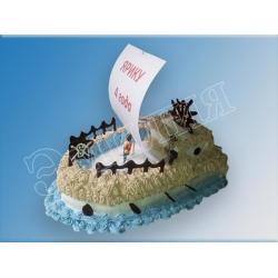 Торт корабль №21