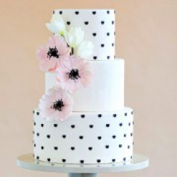 Торт свадебный Polka Dots - 530 грн/кг: заказать, доставка