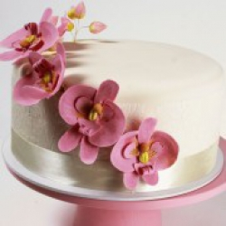 Торт праздничный Нежность орхидей - 550 грн/кг