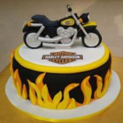 Торт праздничный Харли Дэвидсон - 580 грн/кг