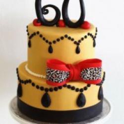 Торт праздничный Золотая жизнь - 530 грн/кг
