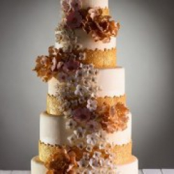 Торт свадебный Золото - 650 грн./кг. : заказать, доставка