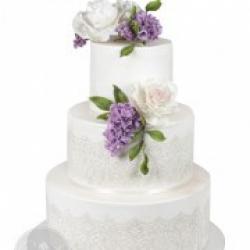 Торт свадебный Весенние цветы - 580 грн./кг. : заказать, доставка