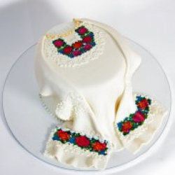 Торт праздничный Вышиванка - 530 грн./кг.