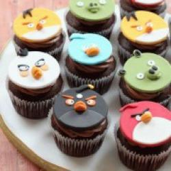 Капкейки Angry Birds - 40 грн/шт