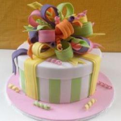 Торт праздничный Яркий подарок - 530 грн/кг