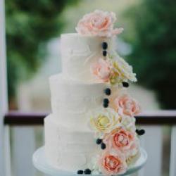 Торт цвадебный Персиковый цвет - 550 грн/кг: заказать, доставка