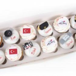 Капкейки праздничные Turkey - 38-55 грн./шт.