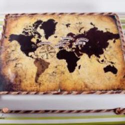 Торт праздничный Карта мира - 500 грн/кг