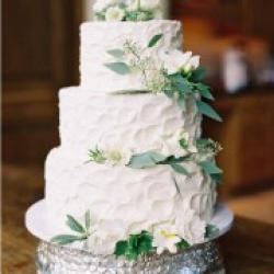 Торт свадебный открытый Эустомы  - 550 грн/кг: заказать, доставка