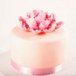 Торт праздничный Нежность пиона - 500 грн/кг