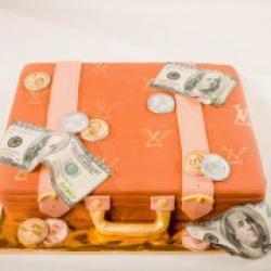 Торт праздничный Портфель - 550 грн/кг