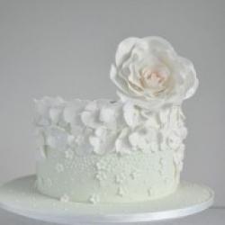 Торт праздничный Благородная простота - 500 грн/кг