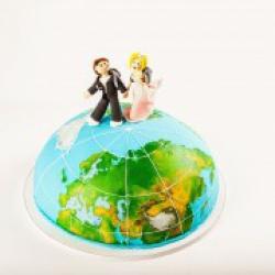 Торт праздничный Кругосветное путешествие - 550 грн/кг