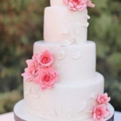 Торт свадебный Лепестки роз - 550 грн/кг: заказать, доставка