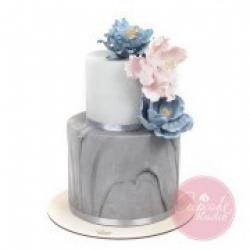 Торт свадебный Мрамор - 530 грн./кг.: заказать, доставка