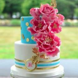Торт свадебный Бирюза - 550 грн/кг