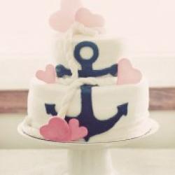 Торт праздничный Якоря любви - 530 грн/кг
