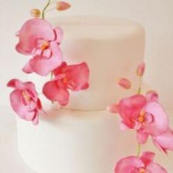 Торт свадебный Цветы орхидеи - 530 грн/кг: заказать, доставка
