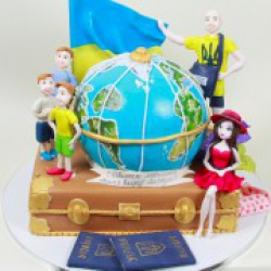 Торт праздничный Путешественник - 650 грн./кг.