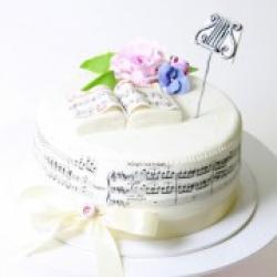 Торт праздничный Мелодия любви - 530 грн./кг.