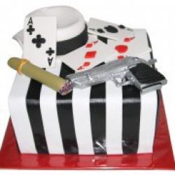 Торт праздничный Гангстеры - 600 грн./кг.