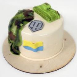 Торт праздничный Танчики - 530 грн./кг.
