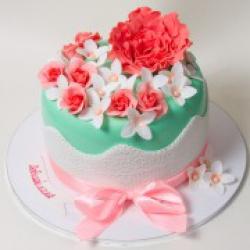 Торт праздничный Дуновение весны - 530 грн./кг.