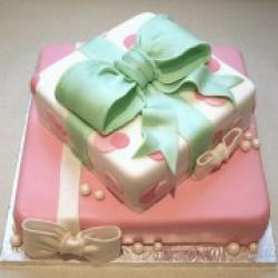 Торт праздничный Подарочки - 500 грн/кг