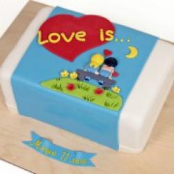 Торт праздничный Love is - 530 грн./кг.
