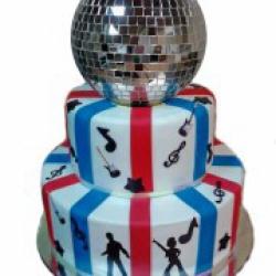 Торт праздничный Диско - 500 грн./кг.(без шара)