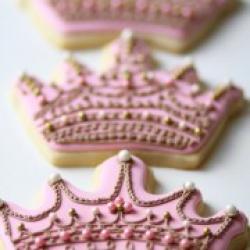Розовая корона - 45 грн/шт.