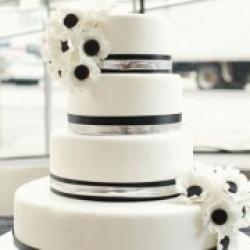 Торт свадебный Black&White - 530 грн/кг: заказать, доставка