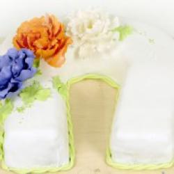 Торт праздничный Подкова - 550 грн./кг.