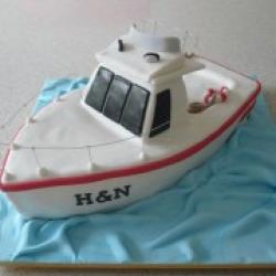 Торт праздничный В море - 550 грн/кг