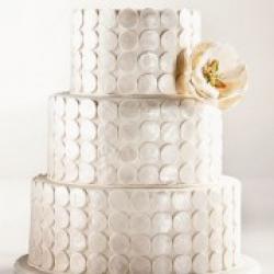 Торт свадебный Жемчужный блеск - 500 грн/кг: заказать, доставка