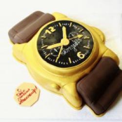 Торт праздничный Часы - 550 грн/кг