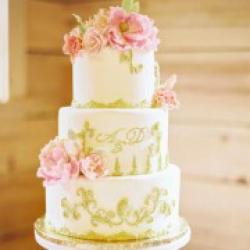 Торт свадебный Золотая нежность - 600 грн/кг: заказать, доставка
