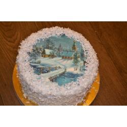Праздничный и юбилейный торт 8