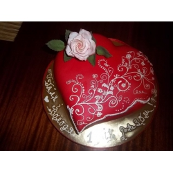 Праздничный и юбилейный торт 5