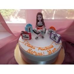Праздничный и юбилейный торт 4