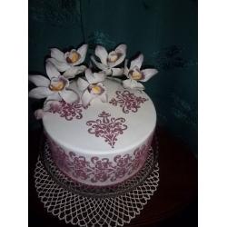 Праздничный и юбилейный торт 12