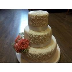Свадебный торт 3: заказать, доставка