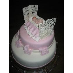 Торт на крестины 6