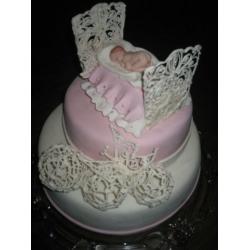 Торт на крестины 7