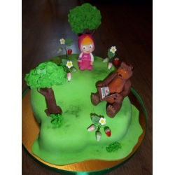 Детский торт 10