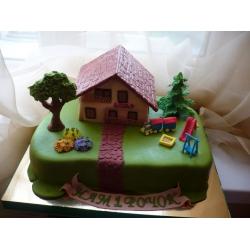 Праздничный и юбилейный торт 15