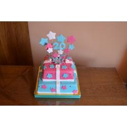 Праздничный и юбилейный торт 39